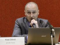 Dávid Kiss presents the research