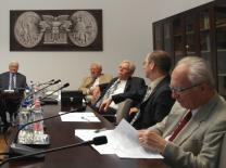 The Board of Advisors for the VERITAS Research Institute for History meets on the Ludovika campus of the National University of Public Service